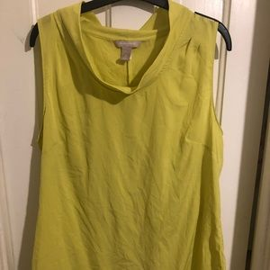 Gently loved Banana Republic sleeveless blouse